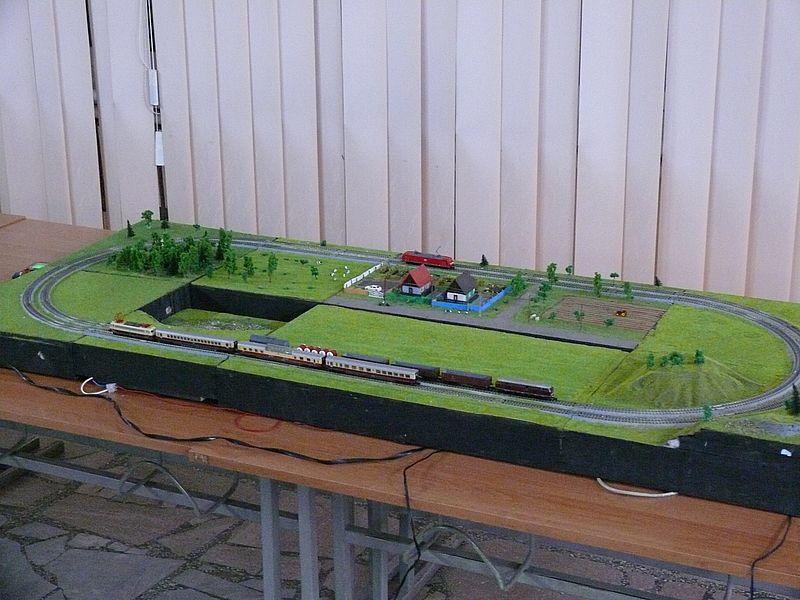 модульний макет TTRAK